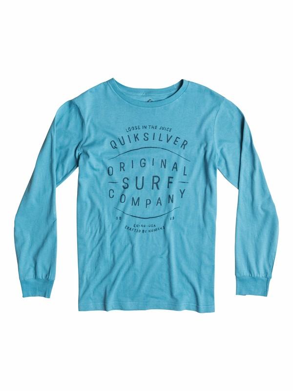0 Organic Ridgy Dig - T-shirt manches longues  EQBZT03159 Quiksilver