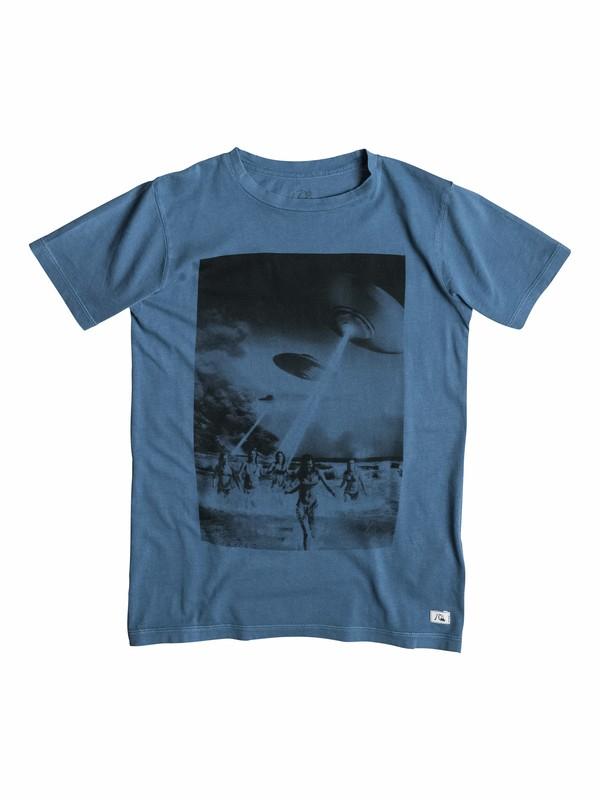 0 Garment Dyed Beach Attack - T-shirt  EQBZT03162 Quiksilver