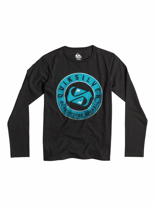 0 Classic Finish Line - T-shirt manches longues  EQBZT03168 Quiksilver