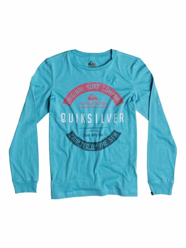0 Organic Crafty - T-shirt manches longues  EQBZT03169 Quiksilver