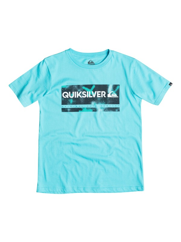 0 Classic Check My Spray - T-shirt  EQBZT03232 Quiksilver