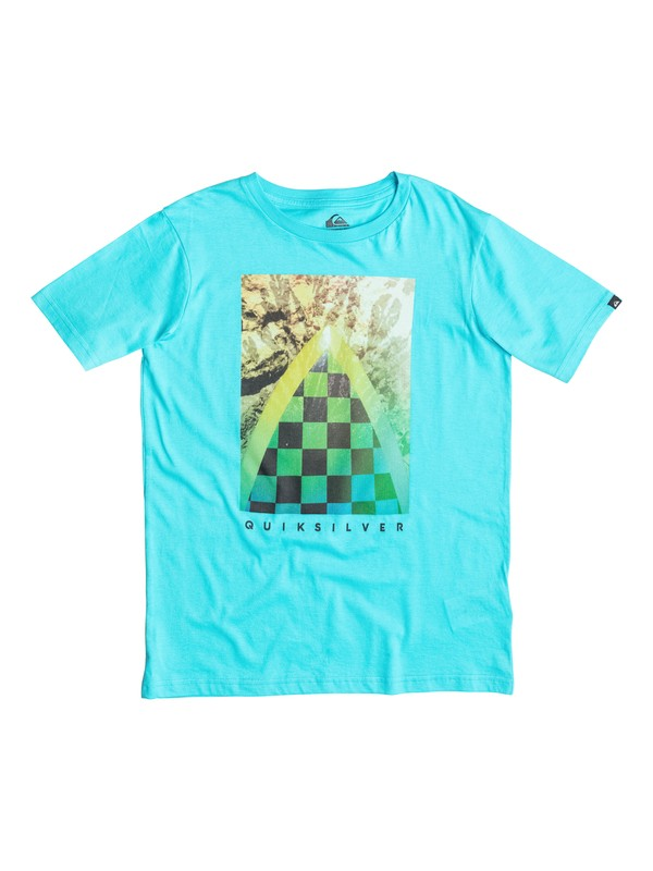 0 Classic Check Channel - T-shirt  EQBZT03233 Quiksilver