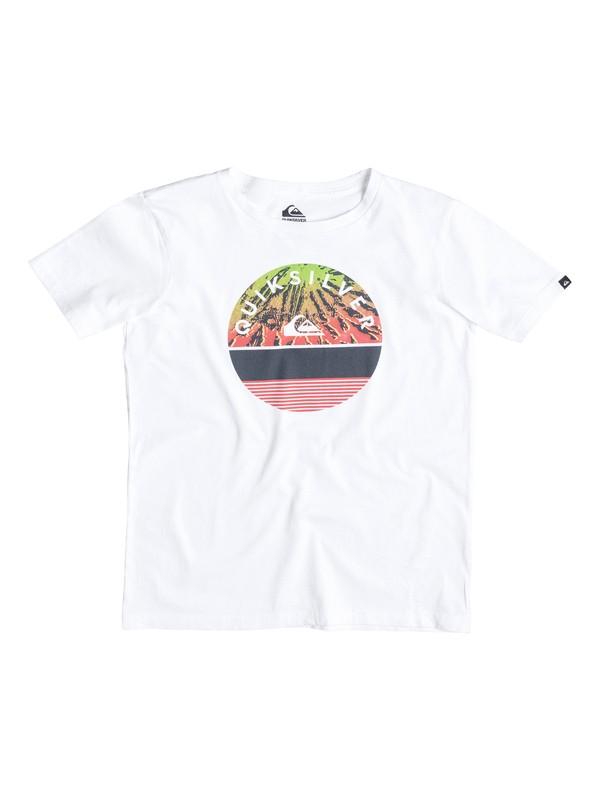 0 Classic Extinguished - T-shirt Blanc EQBZT03236 Quiksilver