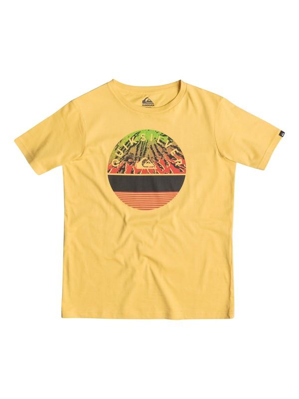 0 Classic Extinguished - T-shirt Jaune EQBZT03236 Quiksilver