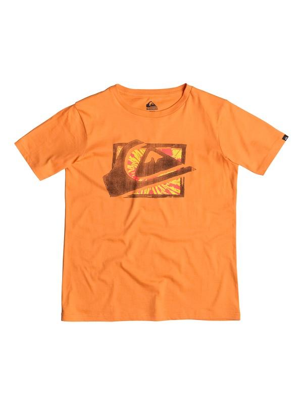 0 Classic MW Spray - T-shirt Orange EQBZT03237 Quiksilver