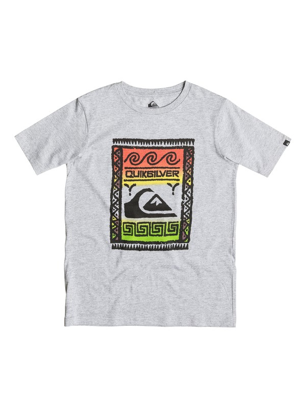 0 Classic Walstreet - T-shirt Gris EQBZT03238 Quiksilver