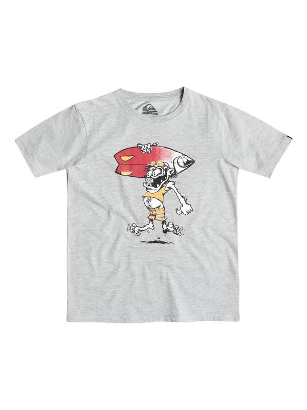 0 Classic Copawoumba - T-shirt Gris EQBZT03239 Quiksilver
