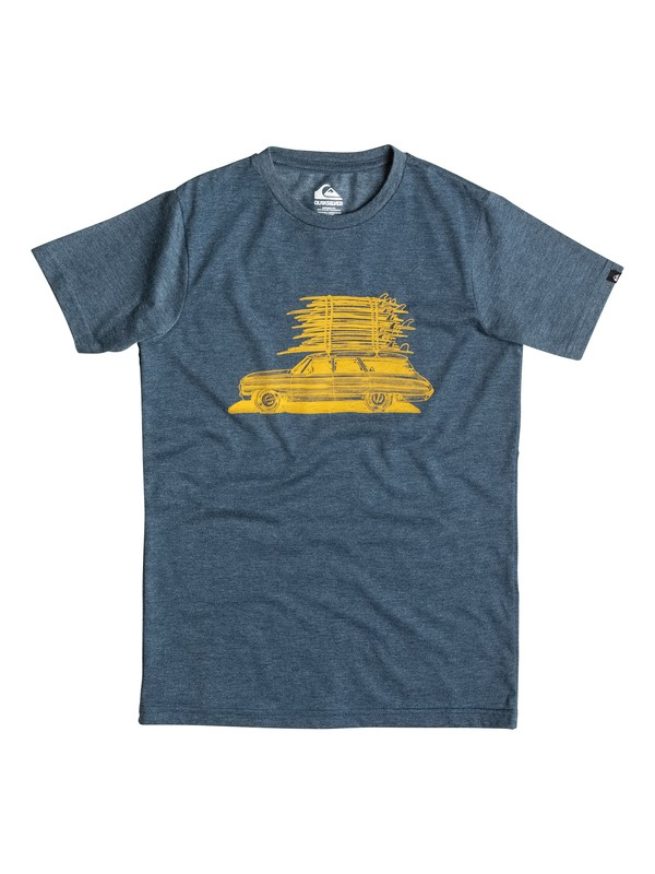0 Heather Board Wagon - T-shirt  EQBZT03245 Quiksilver