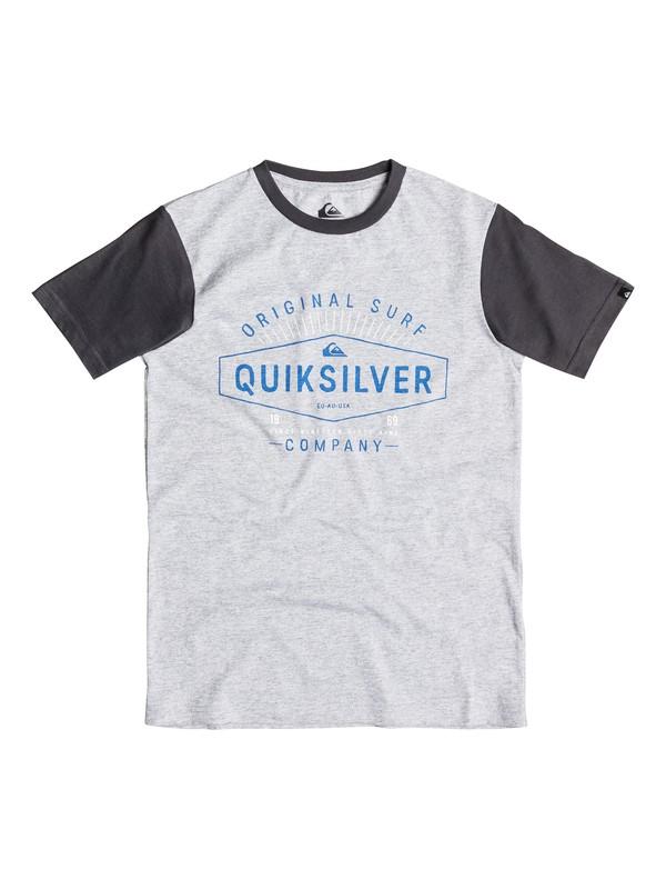 0 Colorblock Dr No - T-shirt  EQBZT03248 Quiksilver