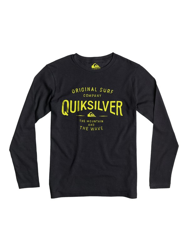 0 Classic Claim It - T-shirt manches longues  EQBZT03249 Quiksilver