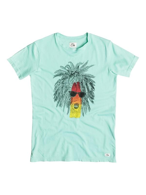 0 Garment Dye Rasta Palm - T-shirt  EQBZT03252 Quiksilver
