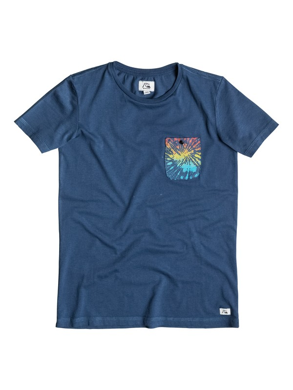 0 Pick Pocket - T-shirt Bleu EQBZT03268 Quiksilver