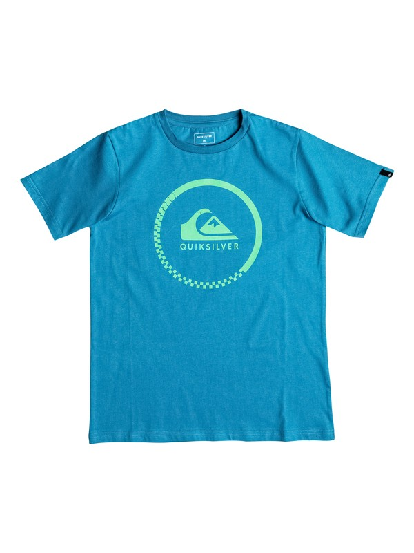 0 Classic Active Check - Tee-Shirt  EQBZT03347 Quiksilver