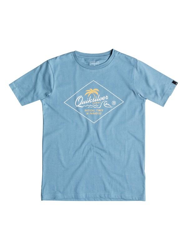 0 Classic Volcano Front - Tee-Shirt  EQBZT03352 Quiksilver
