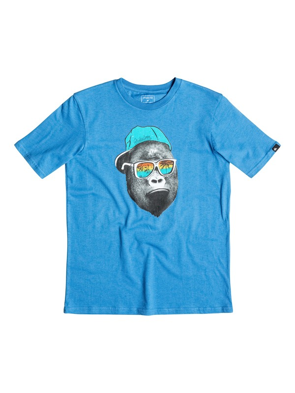 0 Classic Kong Business - T-Shirt Blue EQBZT03354 DC Shoes