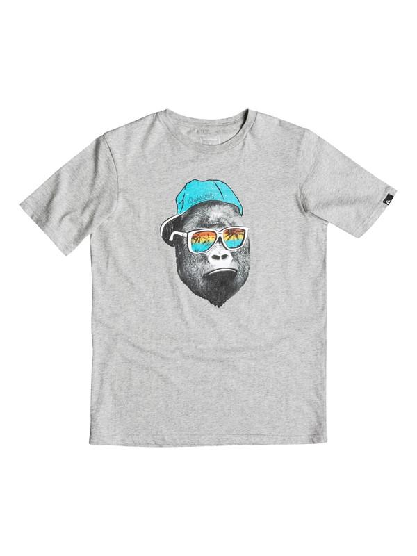 0 Classic Kong Business - T-Shirt Grey EQBZT03354 DC Shoes