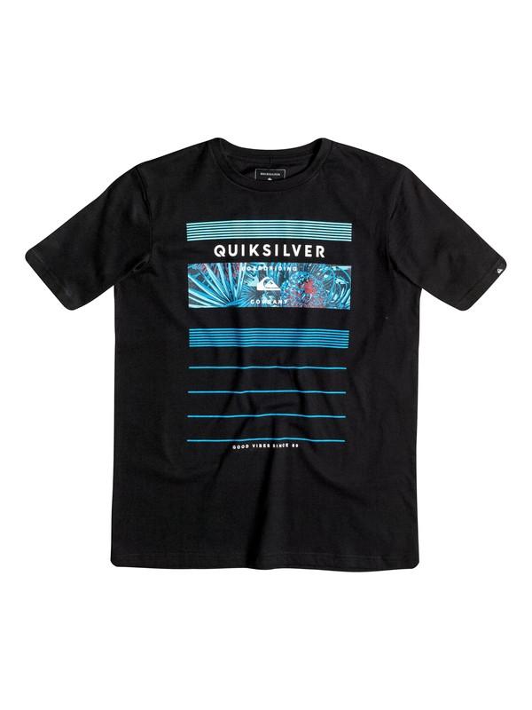 0 Classic Stringer - Tee-Shirt Noir EQBZT03355 Quiksilver