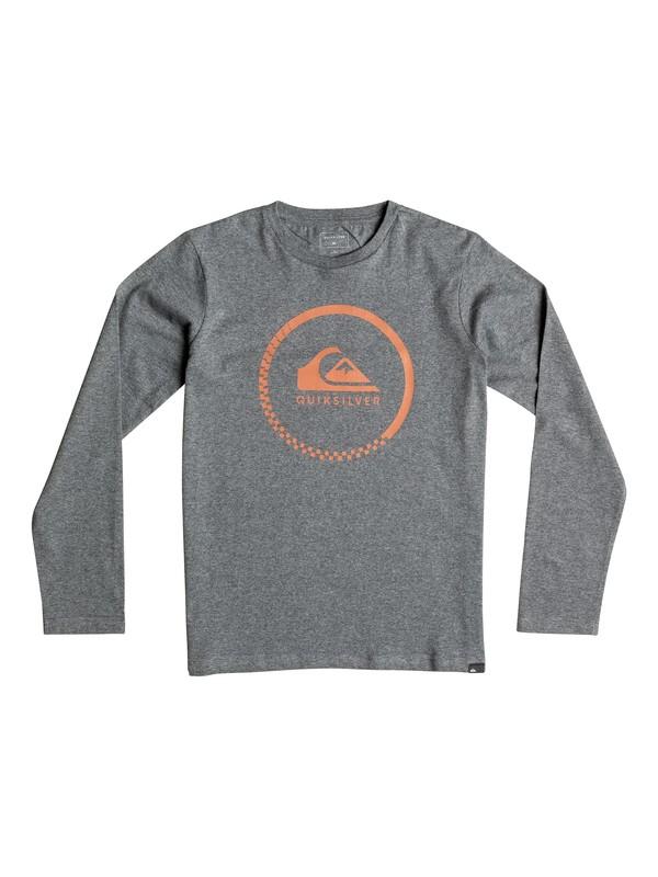0 Classic Active Check - Tee-Shirt à manches longues Noir EQBZT03358 Quiksilver