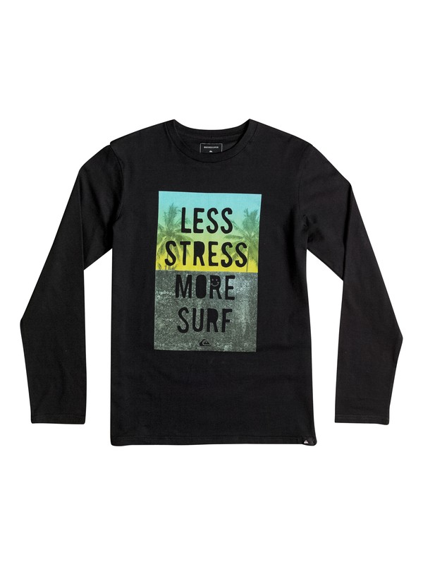 0 Classic Less Stress - Tee-Shirt à manches longues  EQBZT03363 Quiksilver