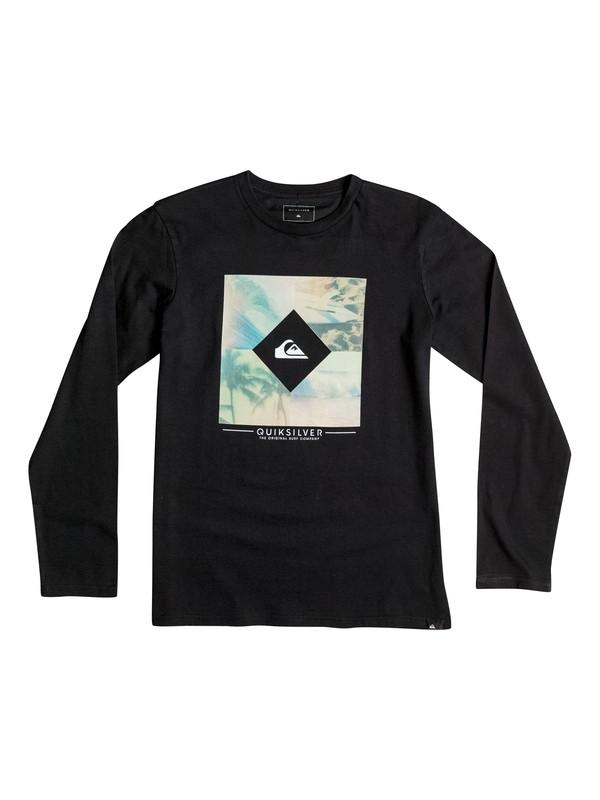 0 Classic Diamond Day - Tee-Shirt à manches longues Noir EQBZT03364 Quiksilver
