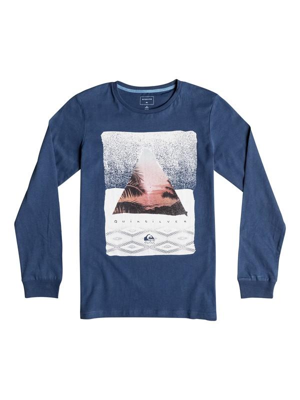 0 Carbon Sintra - Tee-Shirt à manches longues Bleu EQBZT03372 Quiksilver