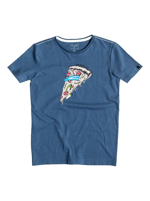 0 AM Peace Of Cake - Tee-Shirt Bleu EQBZT03374 Quiksilver