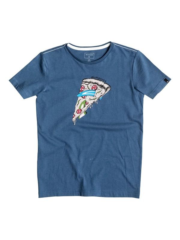0 AM Peace Of Cake - T-Shirt Blau EQBZT03374 Quiksilver