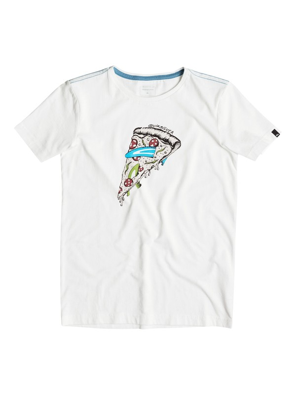 0 AM Peace Of Cake - T-Shirt Weiss EQBZT03374 Quiksilver