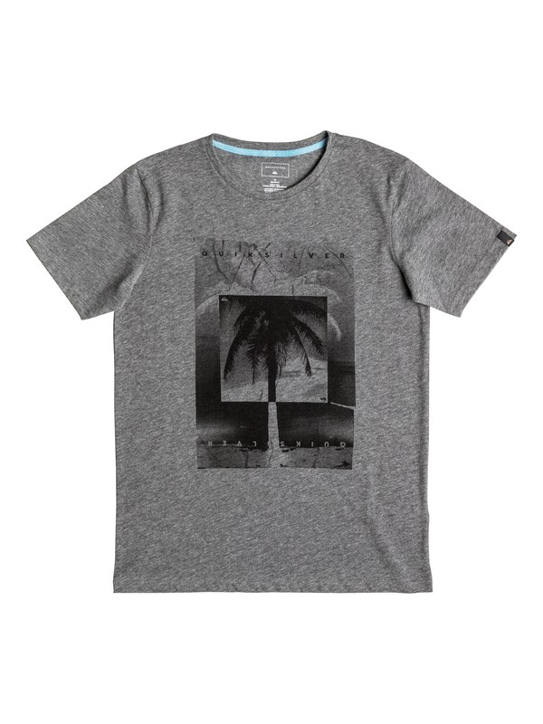 0 Heather Inverted - Tee-Shirt  EQBZT03459 Quiksilver
