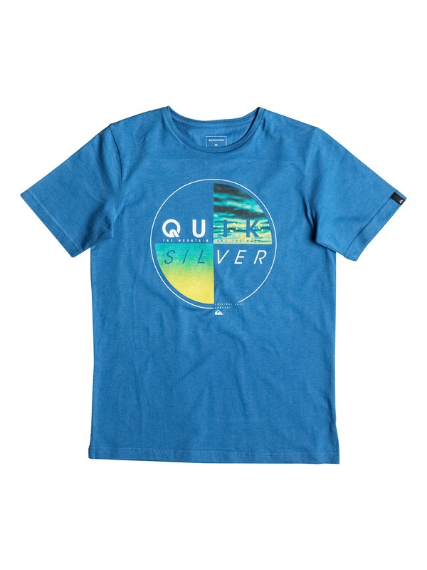 0 Classic Blazed - Tee-Shirt Bleu EQBZT03463 Quiksilver