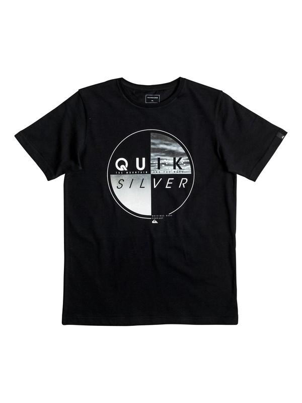 0 Classic Blazed - Tee-Shirt Noir EQBZT03463 Quiksilver