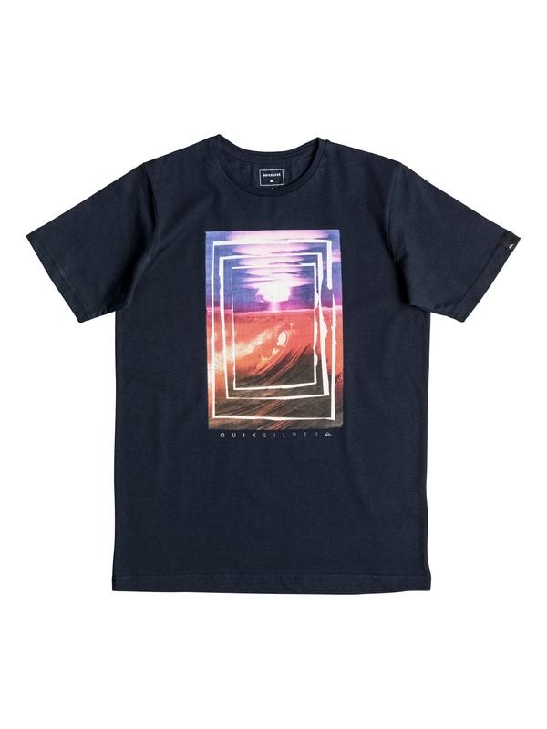 0 Classic Bomb Sets - Tee-Shirt Bleu EQBZT03469 Quiksilver