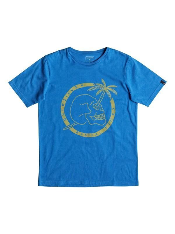 0 Classic Palm Skull - Tee-Shirt  EQBZT03477 Quiksilver