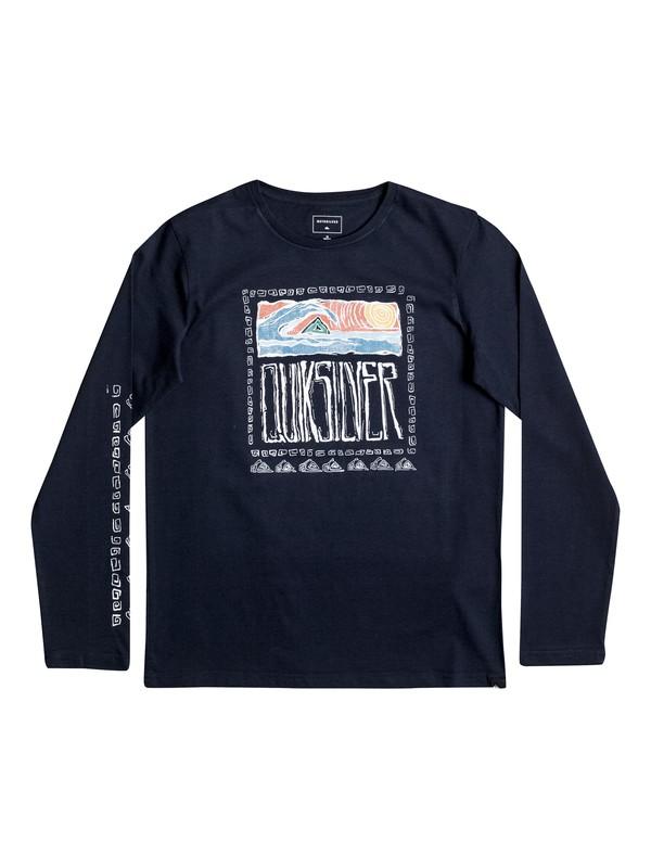 0 Classic Sunset Smoke - Tee-Shirt à manches longues  EQBZT03486 Quiksilver