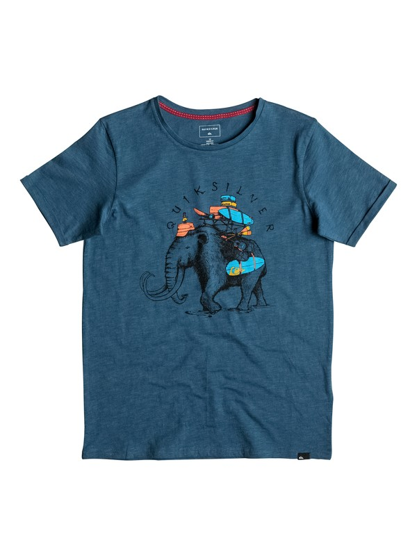 0 Slub Momoth - Tee-Shirt  EQBZT03496 Quiksilver