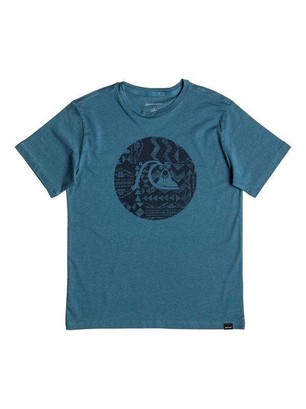 0 Circle Bubble - Tee-Shirt Bleu EQBZT03521 Quiksilver