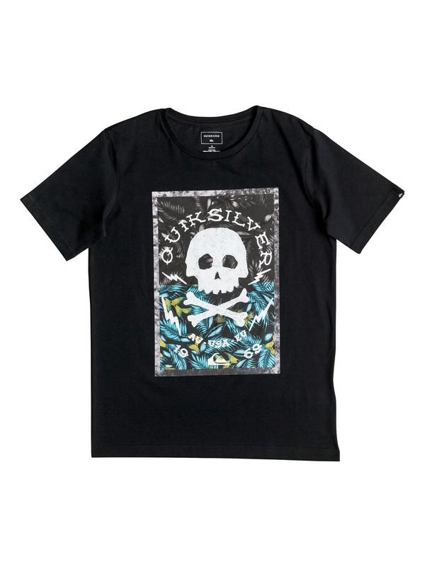 0 Classic Danger Beach - Tee-Shirt Noir EQBZT03532 Quiksilver