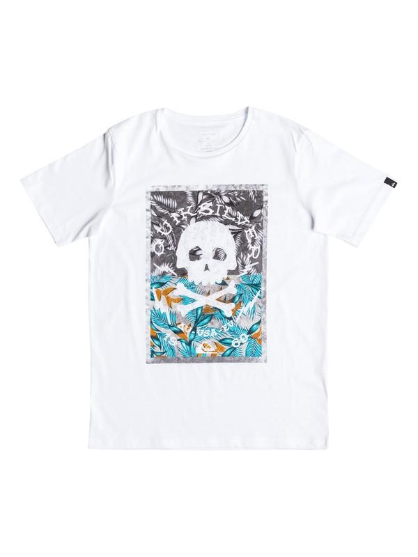 0 Classic Danger Beach - Tee-Shirt Blanc EQBZT03532 Quiksilver