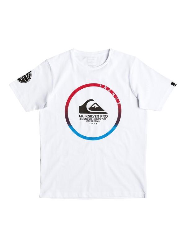 0 QS Pro France 2016 - Tee-Shirt Blanc EQBZT03537 Quiksilver