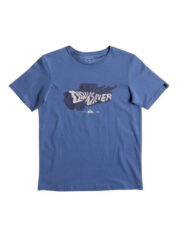 0 Classic Magic Car - T Shirt Bleu EQBZT03563 Quiksilver