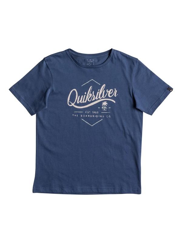 0 Classic Sea Tales - T Shirt Bleu EQBZT03566 Quiksilver