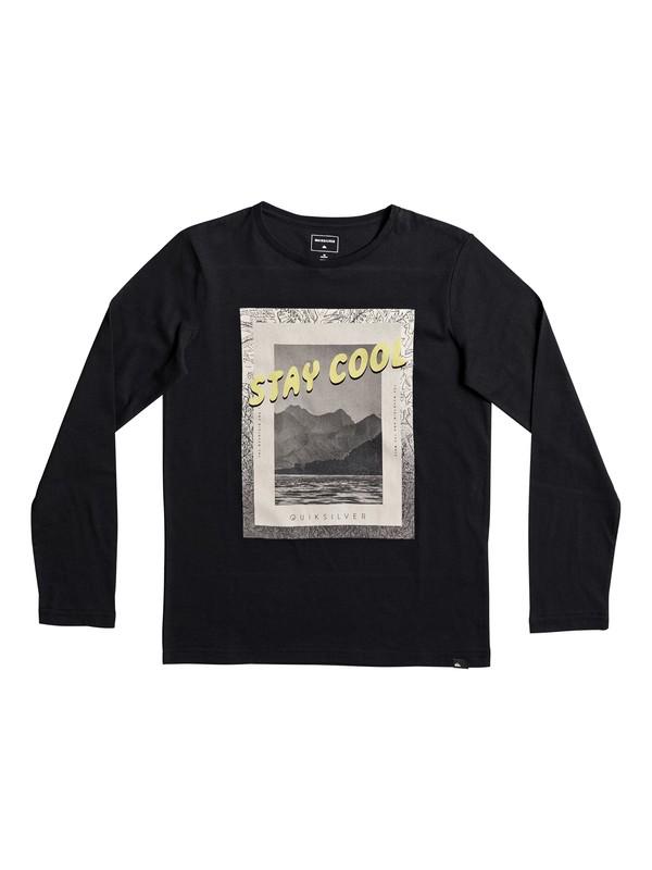 0 Classic Stay Cool - T Shirt à manches longues Noir EQBZT03568 Quiksilver