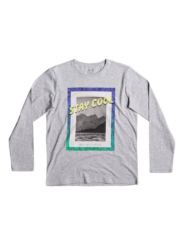0 Classic Stay Cool - Longsleeve Grau EQBZT03568 Quiksilver