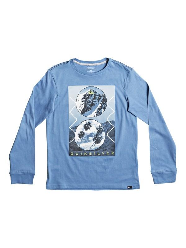 0 Carbon Finish Simply - Super-Soft Long Sleeve T-Shirt Blue EQBZT03581 Quiksilver