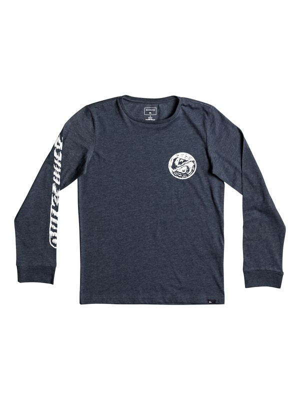 0 Bad Vision - T Shirt à manches longues Bleu EQBZT03589 Quiksilver