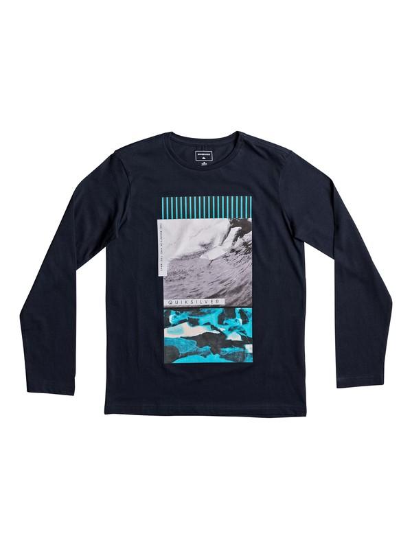 0 Classic Jem Barrel - T Shirt à manches longues  EQBZT03628 Quiksilver