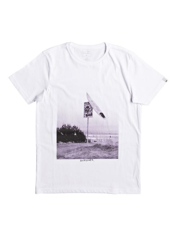 0 Classic East Smashed - Tee-Shirt  EQBZT03629 Quiksilver