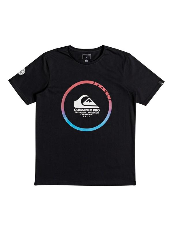 0 Quik Pro France Tee Youth 2017 - T-Shirt  EQBZT03633 Quiksilver