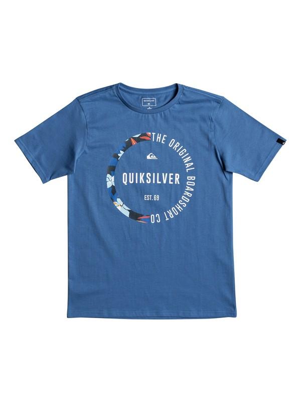 0 Classic Revenge - T Shirt col rond Bleu EQBZT03670 Quiksilver