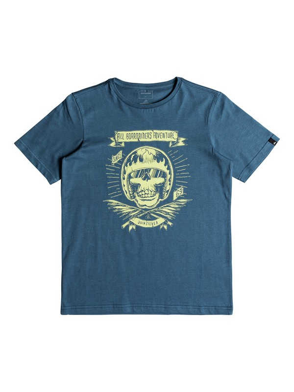 0 Classic Makau Ola - T Shirt col rond Bleu EQBZT03671 Quiksilver